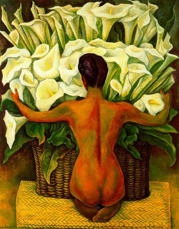 Desnudo Con Alcatraces